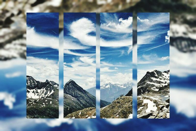 In The Mountains Taking Photos Check This Out MölltalerGletscher Cloudsandsky Enjoying Life Naturelovers Hello World Hanging Out Colours Of Nature EyeEm Clouds And Sky