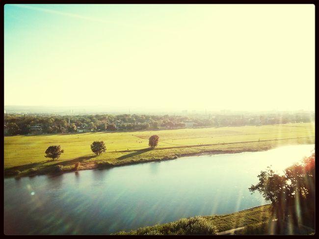 So muss ein F(r)eiertag im Herbst sein! Dresden Nature Riverside Autumn