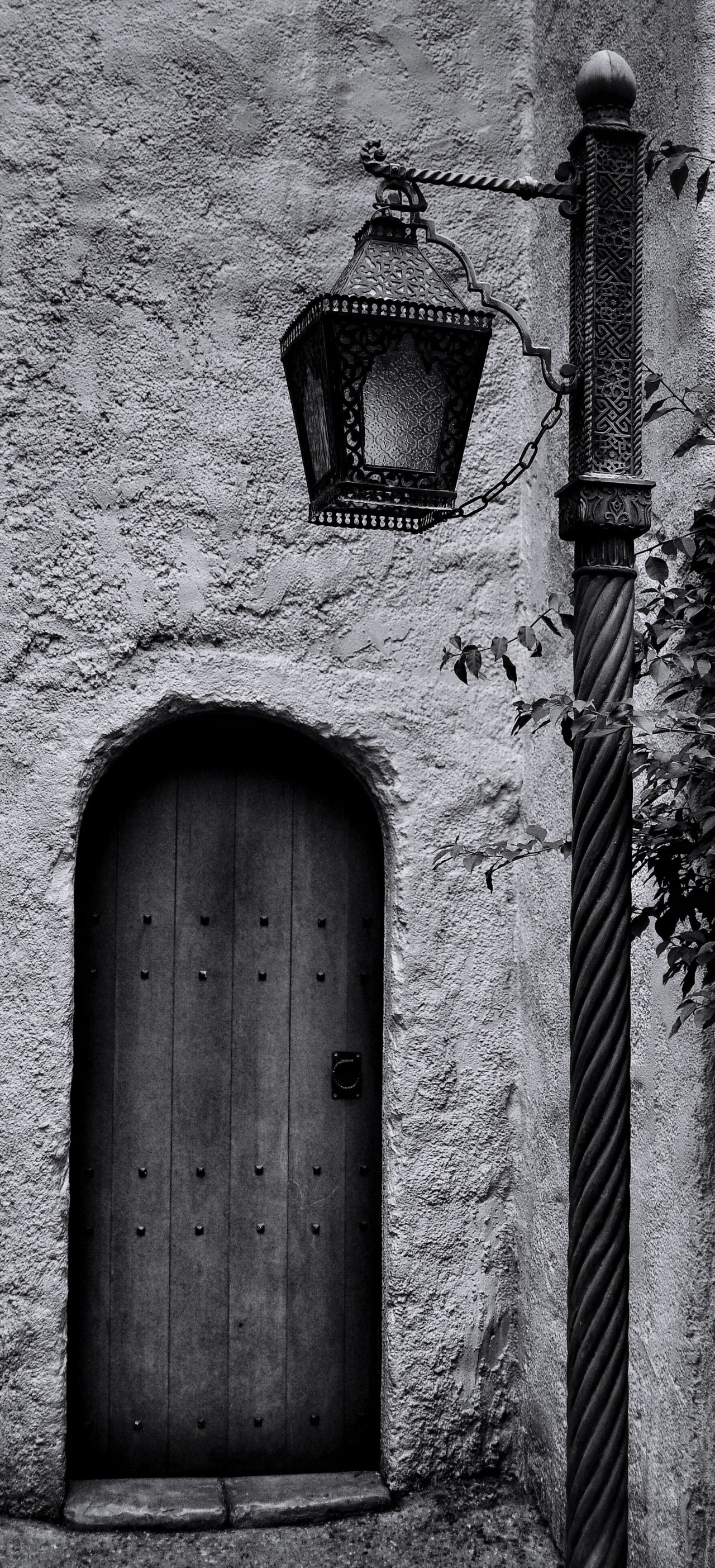 Door number 2 ... Bnw_doors Bnw_friday_eyeemchallenge Architecture Building Exterior Built Structure Brick Wall Entrance No People Day Outdoors Fortheloveofblackandwhite Bw_collection Blackandwhite