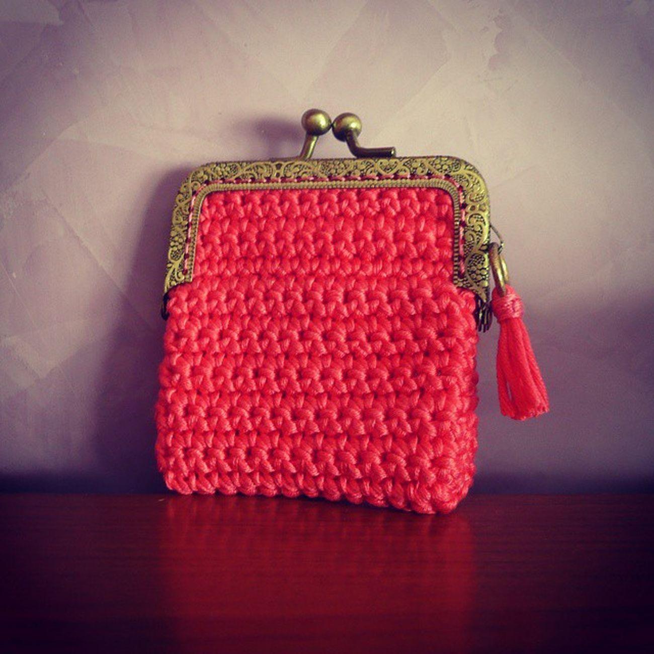 esto es un viciooooo Monedero Coinpurse Ganchillo Crochet Handmade Yarn Dropsmuskat Senshoku Crochetaddict