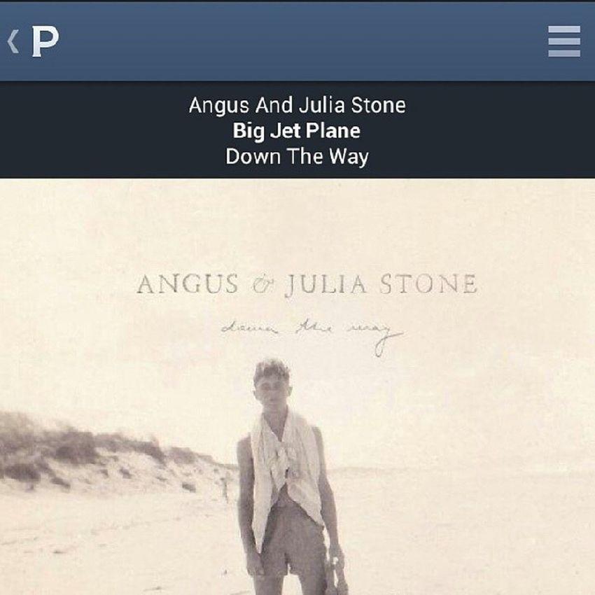 Angusandjuliastone Bigjetplane Pandora 'gonna take you for a ride on my big jet plane ✈?☝??