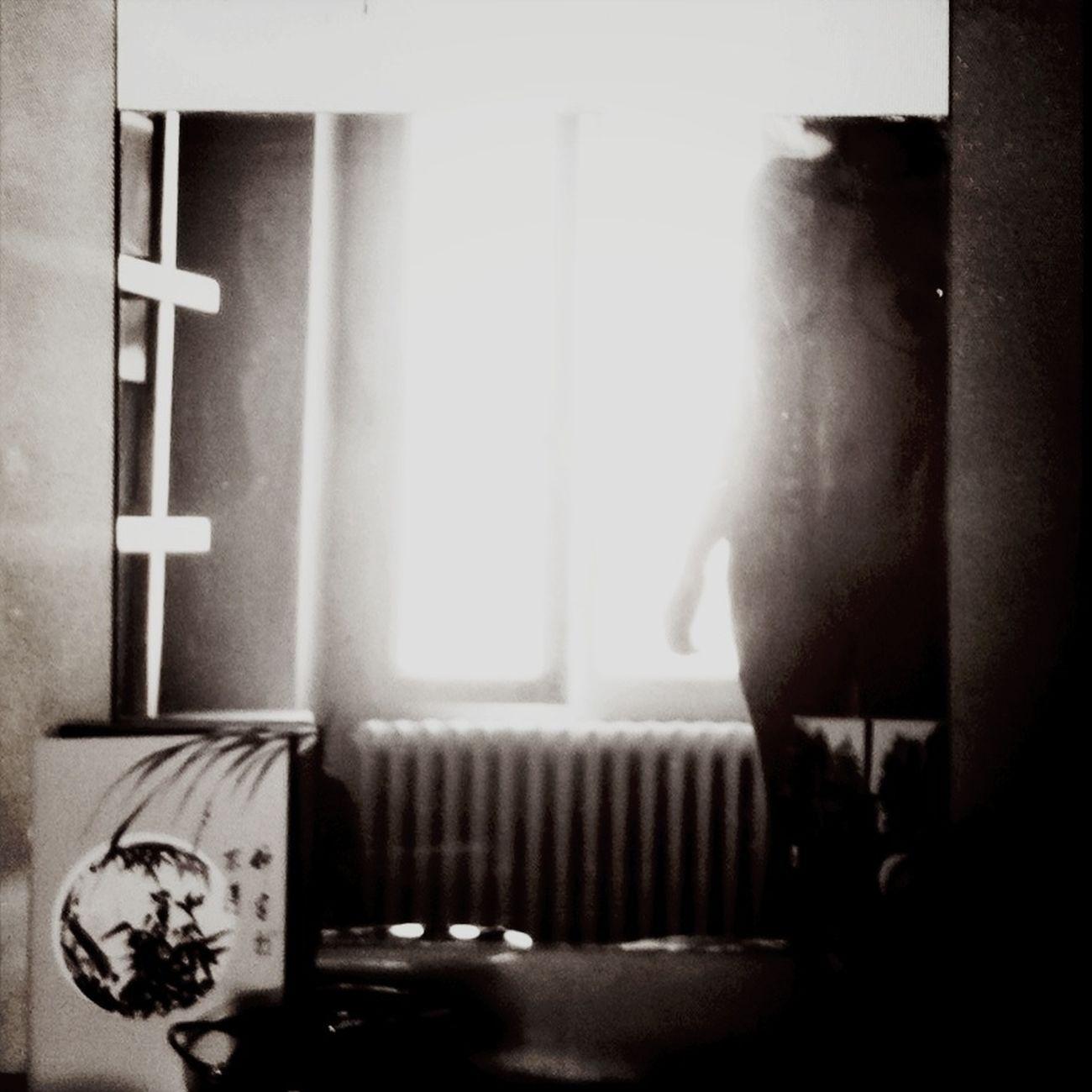 evocation... Blackandwhite Reflection L'ombre De Soi Même