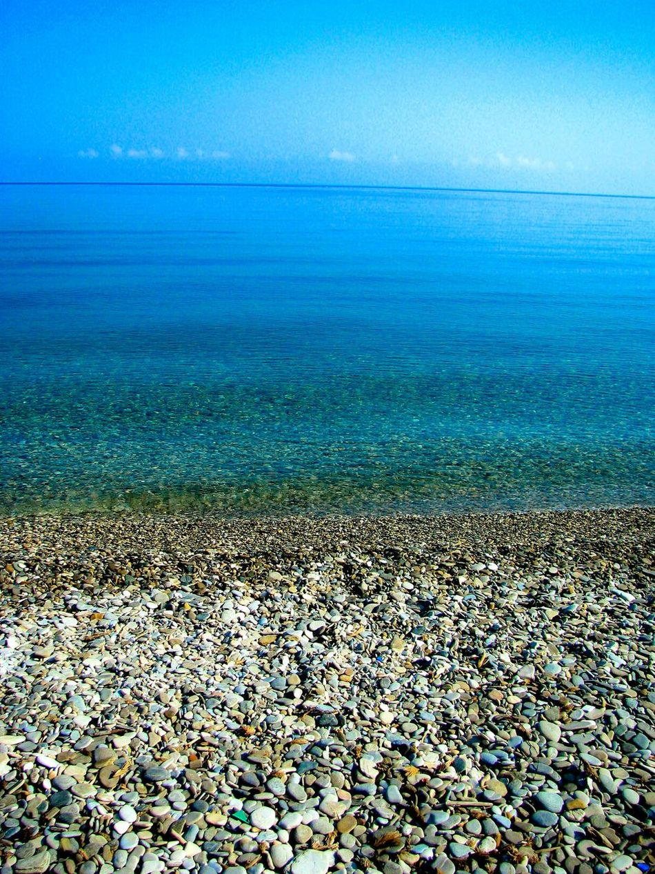 Sea Life Is A Beach Blue Wave Greek Islands Nature Splash Sky A Moment Of Zen... Shades Of Blue Pebble Beach The Best From Holiday POV Beauty In Nature Deep Blue Endless Blue Crystal Clear Waters Beach Photography Tranquility Landscapes With WhiteWall Pattern, Texture, Shape And Form Pebbles Kokari Beach Samos Island Summer Memories 🌄 Stones & Water