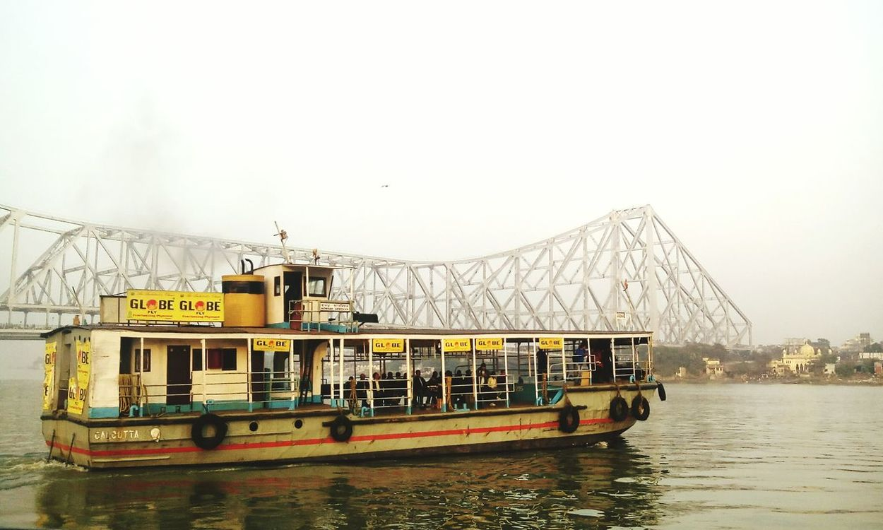 Kolkata Ferryboat Howrah Bridge Summer Evening Travelling Eyeem West Bengal - India Taking Photos The Week On Eyem River Hooghlyriver People Passenger The Outdoors - 2016 Eyeem Awards The Great Outdoors - 2016 EyeEm Awards Feel The Journey Original Experiences