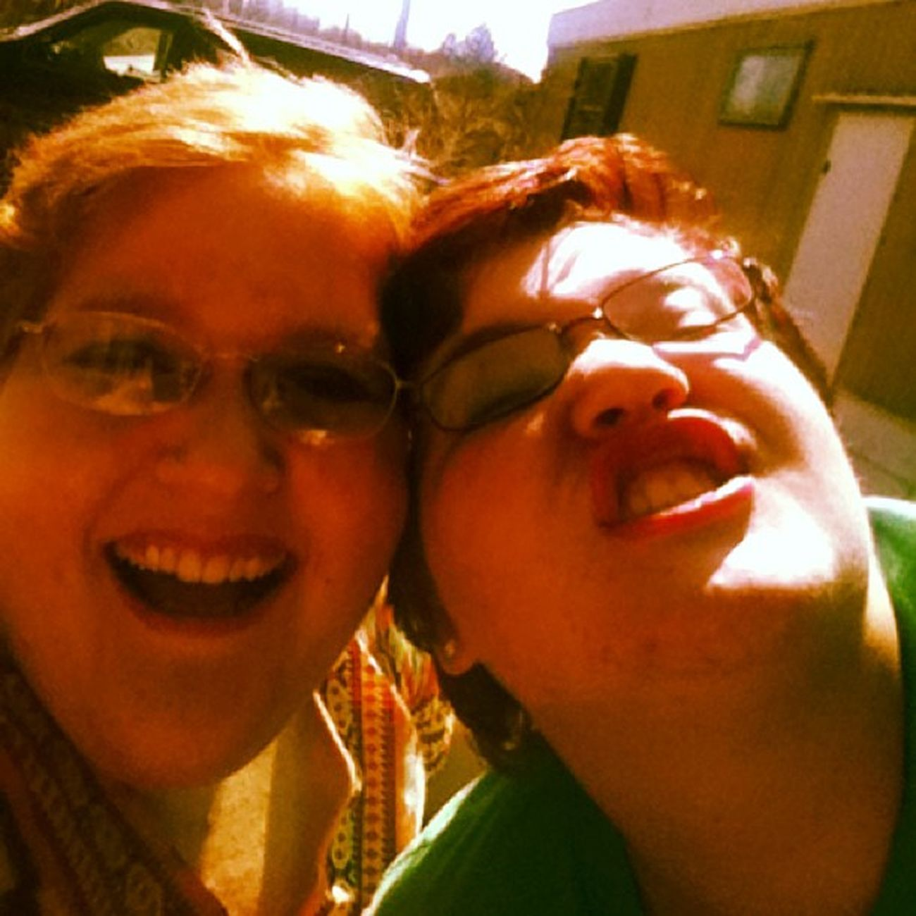 @jazzy_beth Weirdfaces Sister Weird Loveher Yesterday Outside