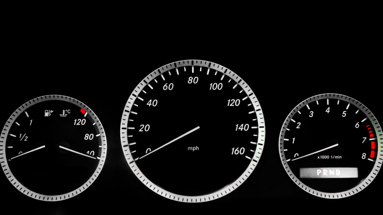 Auto Racing Black Background Cars Carspotting Close-up Dashboard Dial Dials Equipment Gauge Instrument Cluster Interior Design Mercedes Mercedes-Benz Meter - Instrument Of Measurement Motorsport No People Speed Speedometer