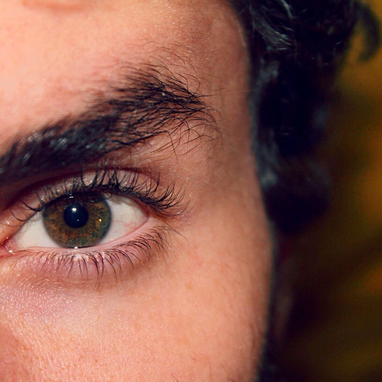 That's Me Brown Eyes No Filter
