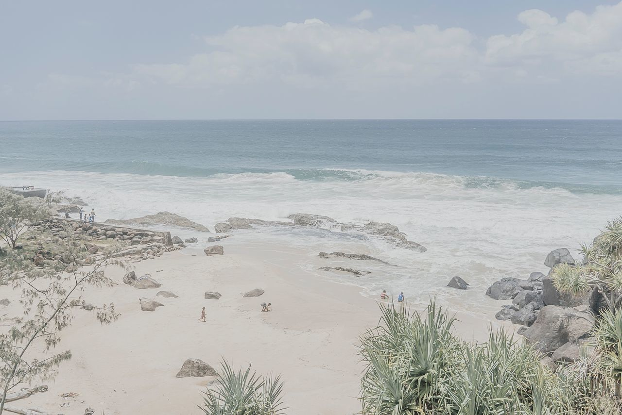 Coastal Paradise MelbournePhotographer Sea Beach Horizon Over Water Sand Nature Water Scenics Beauty In Nature Sky Tranquility Tranquil Scene Day Outdoors People Watching People On The Beach