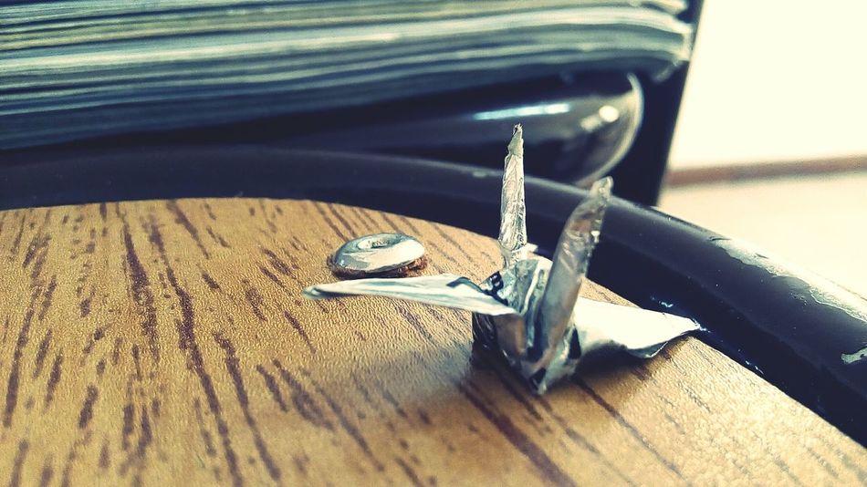Crane Origami Origamiart Origami Cranes Origamitime at school this morning c: