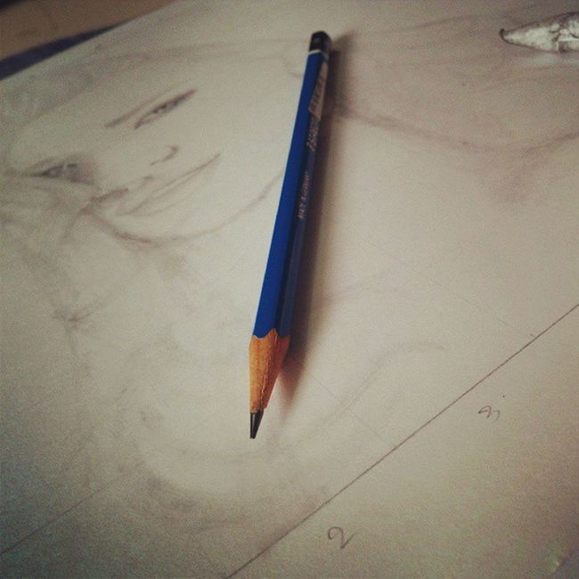 Sketches Paperstumps RosieHuntington Cartridge