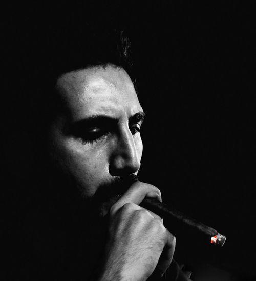 Cuban Cigar Havana Cigars Model Portrait