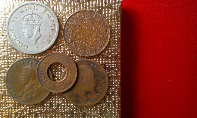 Old coins of India (70 to 90 years old) Old Coins Coins Collection Coins Old Coin Collection From My Point Of View EyeEm Gallery 43 Golden Moments 1927 1941 1944 1947 My Collection Currency Indian Indian Currency Finance One Quarter Anna One Rupee One Pice Showcase June
