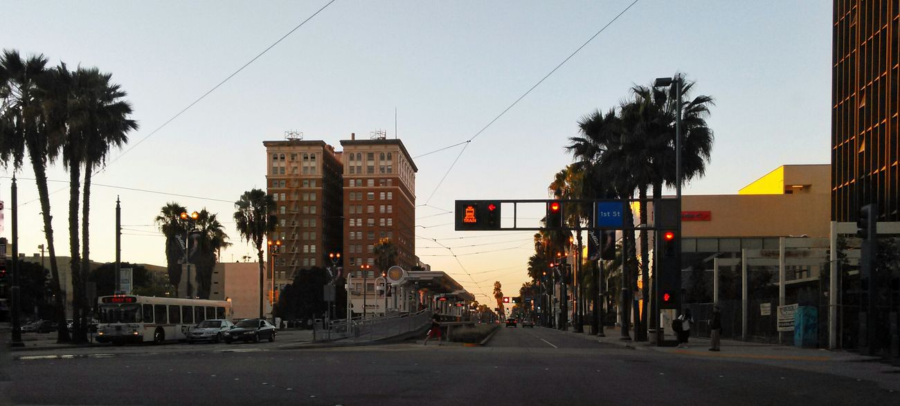 Sunset , heading north on Long Beach Boulevard at 1st Street. The center divider is a Railroad Station Platform and track for the Long Beach Green Line. Streetphotography Street Photography Streetphoto_color Urbanphotography Urban Landscape Urban Landscapes Urban Lifestyle Urban Exploration Urban Photography City Life Perspective One Point Perspective Perspective Photography Golden Hour Golden Hour In Action Early Evening StreetsWithPeople Cityscapes Cityscape City View  Citylife City Discover Your City