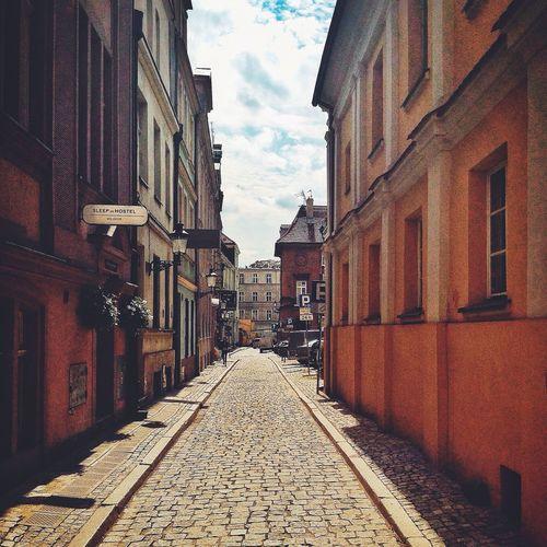 Architectue Street Street Photography in Poznań