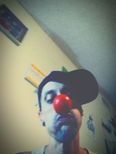 Nothing. But the clown in me First Eyeem Photo