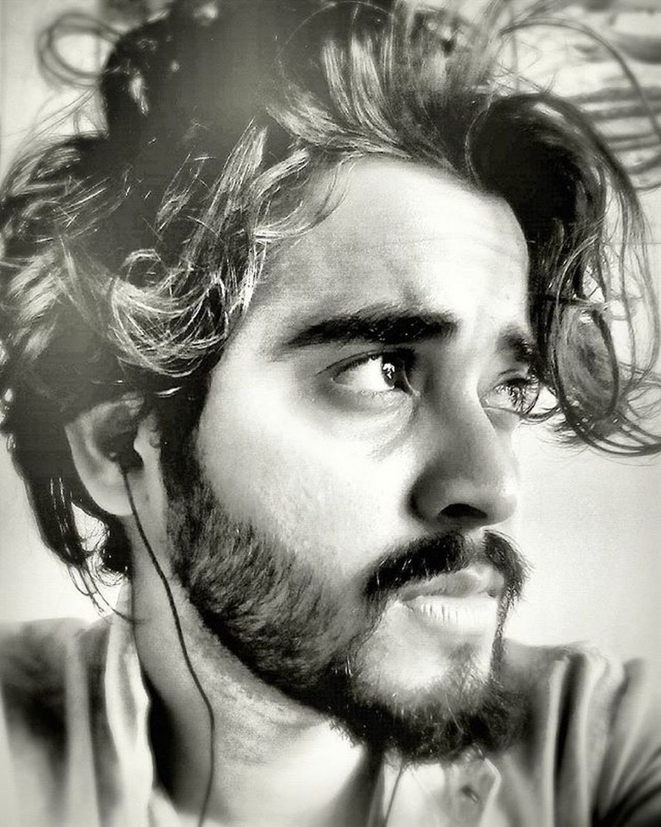 Selfportrait Selfie Playing Withcamera Desibeard Hairwaves Hairstyle Visionary Imaginary Beleiveinyourself Mumbaikar F4F L4l