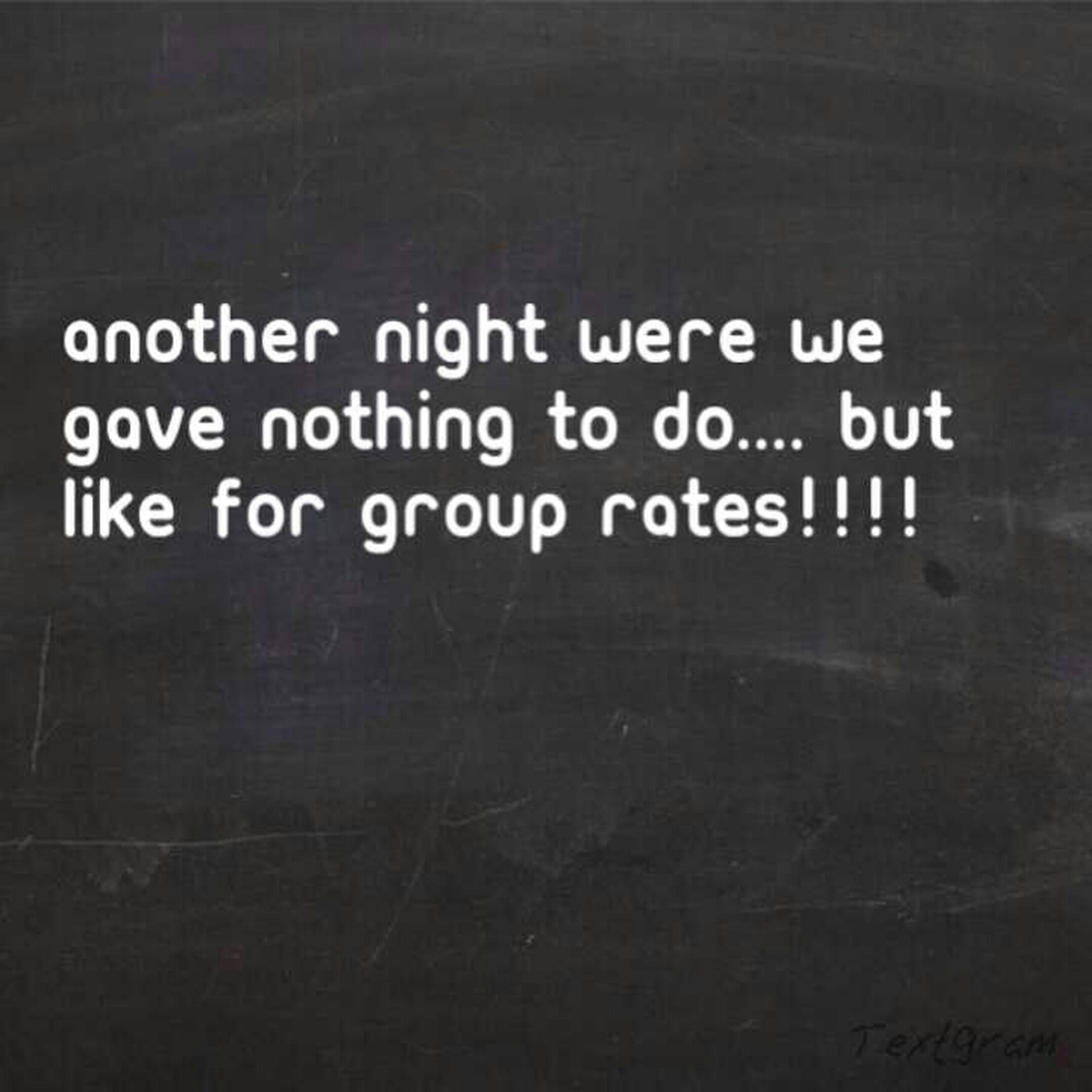 Group Rates!!!