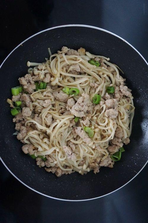 Food Enoki Mushrooms