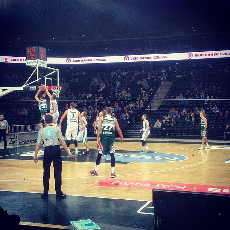 Laimėtojai! 😊 🏀 Žalgiris Kaunas Winners Prienai Rudupis basketball Dimsa Tarolis Lekavicius Lithuania zalgirioarena zalia balta bczalgiriskaunas