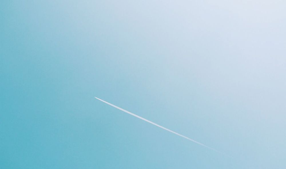 Vapor Trail Contrail White Blue Day Transportation Clear Sky No People Nature Outdoors Space Exploration Sky Space