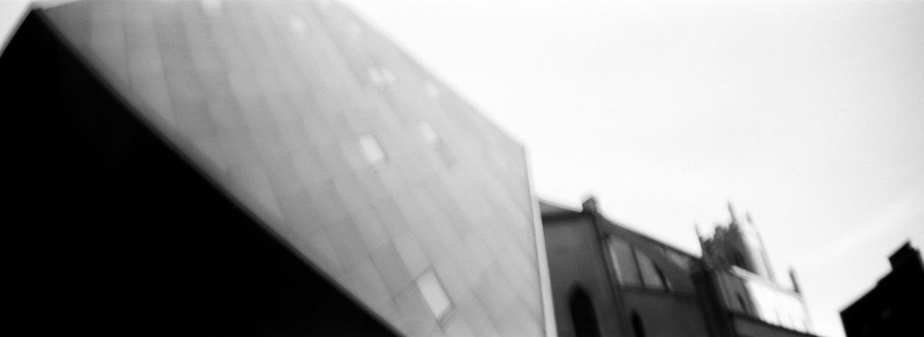 Built Structure Architecture Building Exterior Koduckgirl Adox Silvermax 100 Sprocket Rocket Panorama Jewish Museum