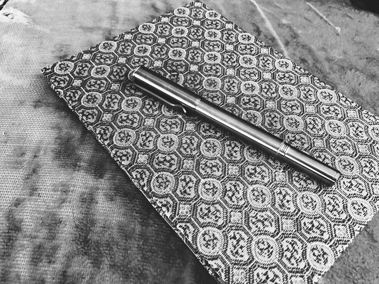 Pattern Feelca_b Koduckgirl Journal Pen Iphone7 Blk N Wht