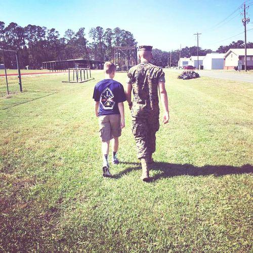 Brothers Brothersforlife Brotherhood Brother❤ Marine Parris Island Semper Fidelis Semperfi Semper Fi  Semper-Fi Family❤ Family Growing Teenager