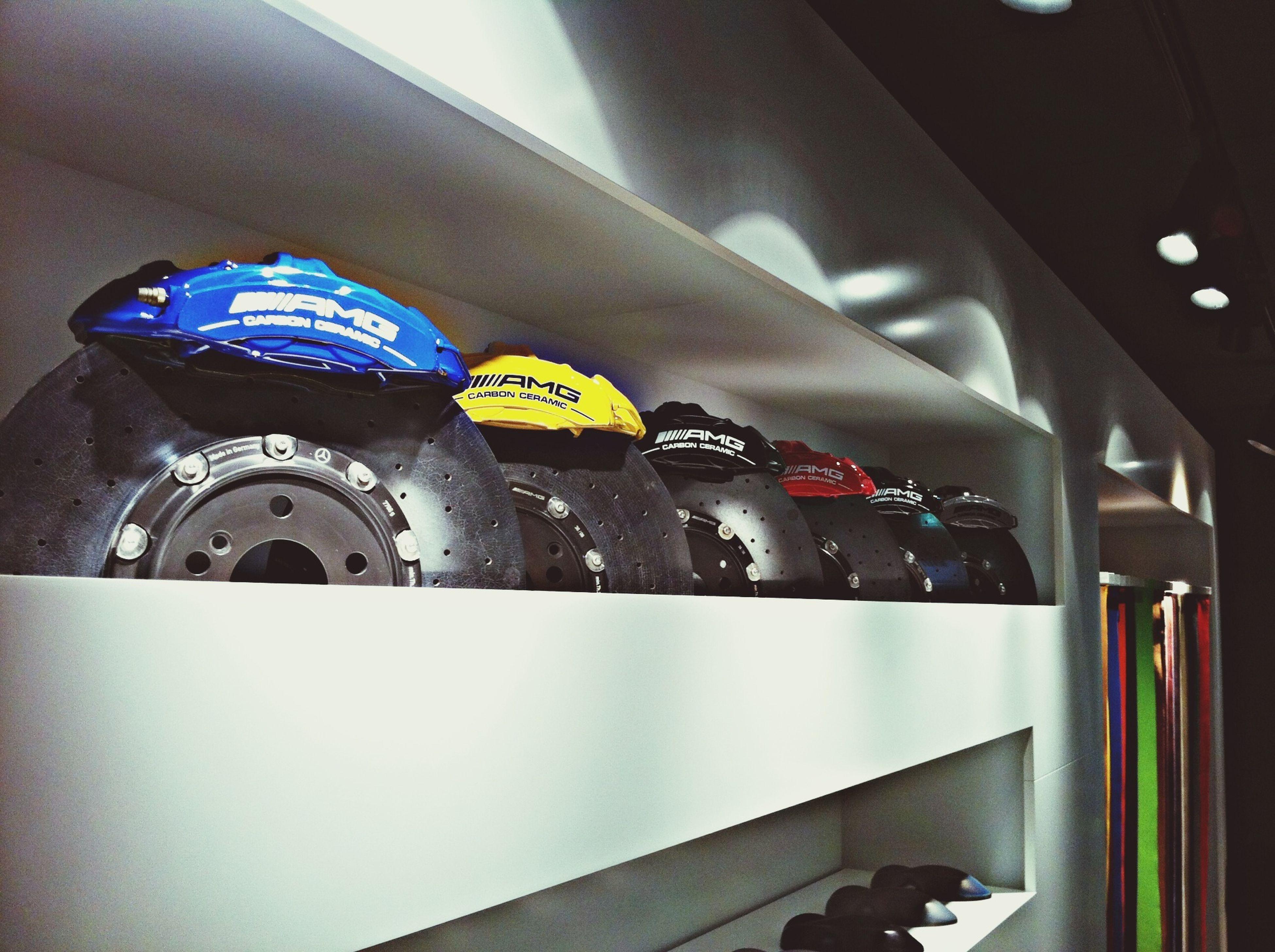 Coloured Brakes