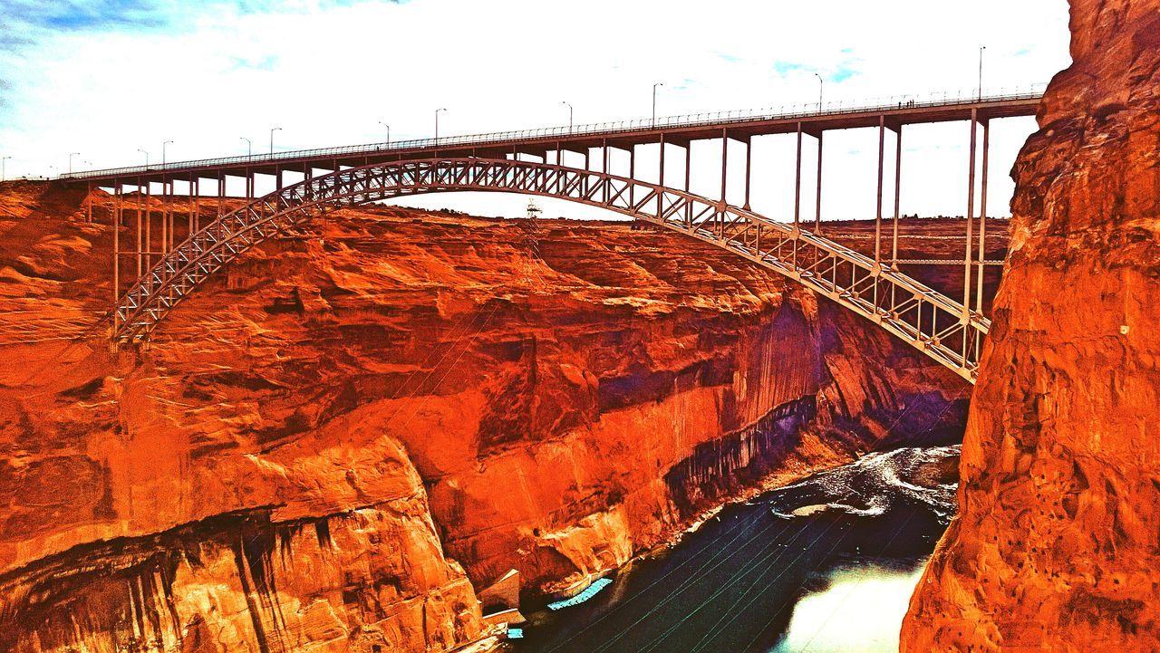 Bridges Bridge Dam Travel Holiday Page Arizona Glen Canyon Dam