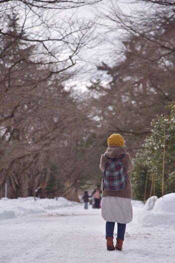楽しかったな〜〜✨✨😊弘前城の雪まつり行って来たよヽ(≧▽≦)ノ写してもらっちゃった😄 冬 雪 ひより ポートレート 弘前城 おハッピー