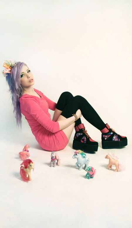 My Little Pony Jijijijijijijijij So Cutie ^^ Love It Fashion Hair