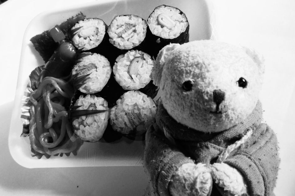 EyeEmNewHere Indoors  No People Lunch Lunch Box Teddy Bear Day My name is chibi・・ Relaxing Enjoying Life Life Hello World Hi! Smile Family Friend Friends That's Me Japan Japanese  Kumamoto EyeEm