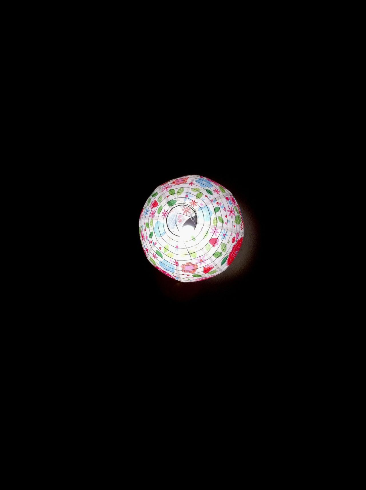 Lamp on Ceiling Colour Everywhere Darkness And Light