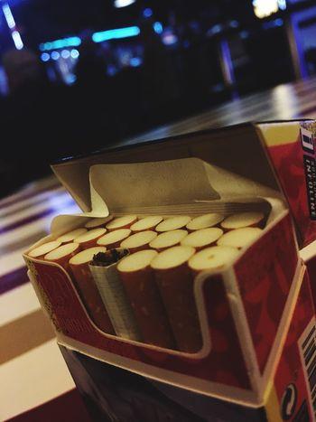 Beautifully Organized Cigarette  Smoke Time