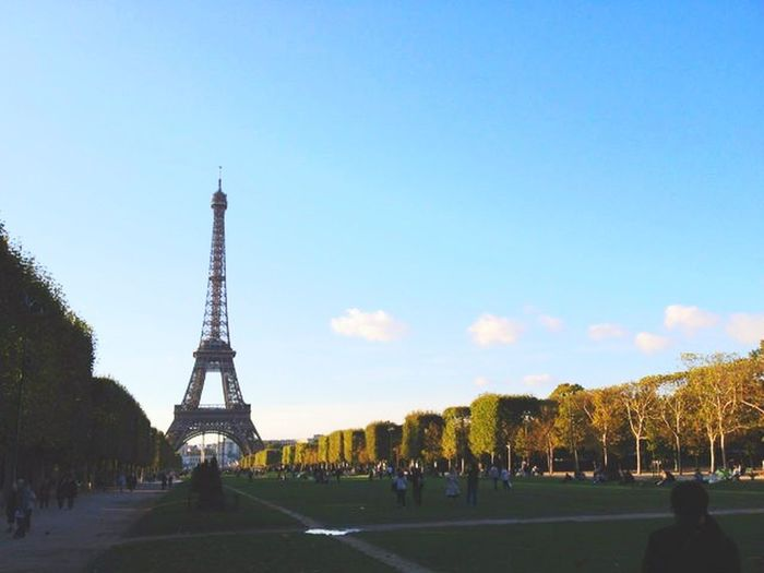 Effel Tower France Photo By  Me Beautiful View Tower Cool