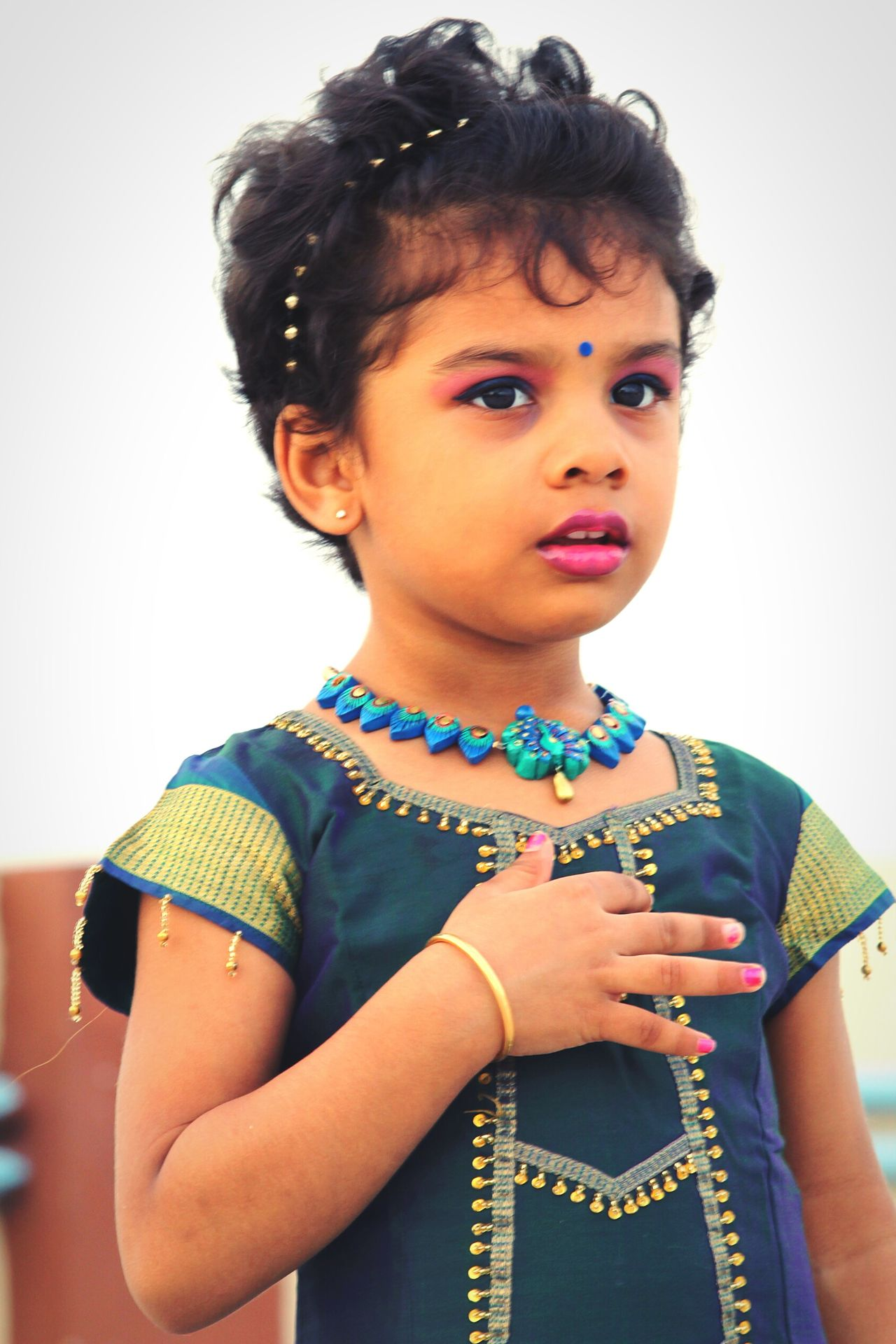 Kidsphotography Kids Portrait Childmodel Indiankids Indian Style Indian Culture  Indianclothing Traditional Ethnicwear Ethnic Terracotta Jewellery.. Terracotta Clay Jewellery Pottery Jewelry Handmade Jewellery Mayuriterracotta Handmade Accessories Handmadejewelry Handmadewithlove Handmadebyeme