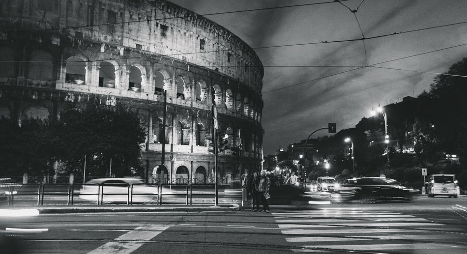 Architecture Building Exterior Built Structure Kolloseum Koloseum Kolosseum Rom Rome Rome Italy Rome, Italy Transportation Welcome To Black