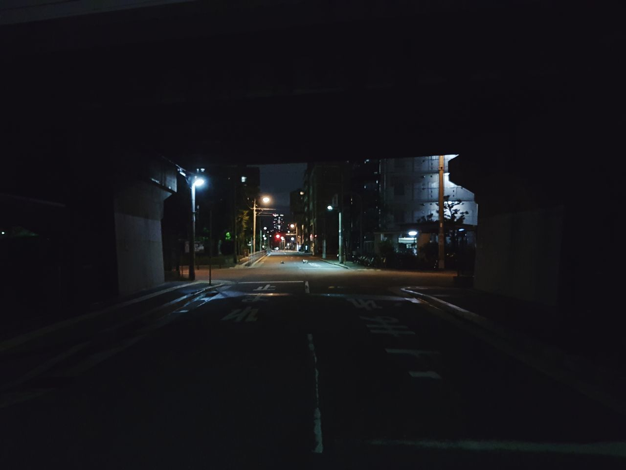 night, illuminated, architecture, transportation, built structure, road, city, street, building exterior, no people, the way forward, outdoors
