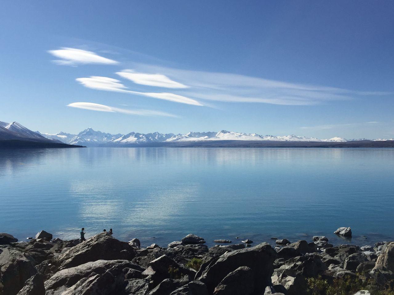 New Zealand Lake Sky