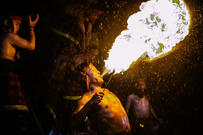 Culture Fire Fire - Natural Phenomenon Fire Breathing Flame Human Finger Performance Performer  Person Pyro Show Pyrotechnics Side View
