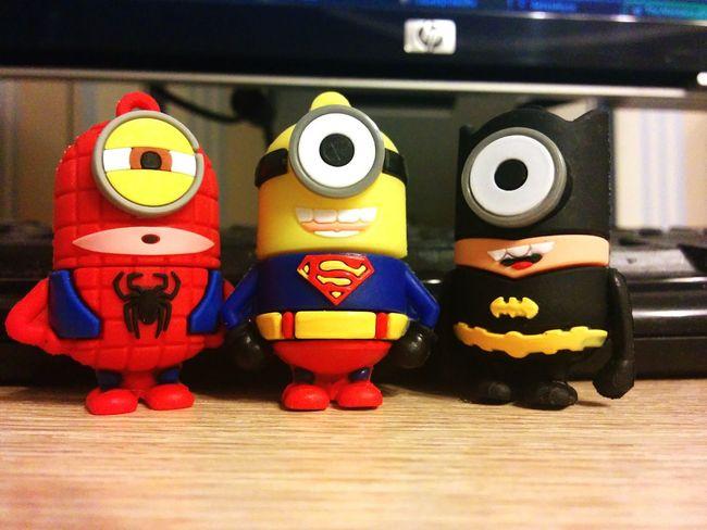 Minions superheroes! Minions Superheroes Usbflash