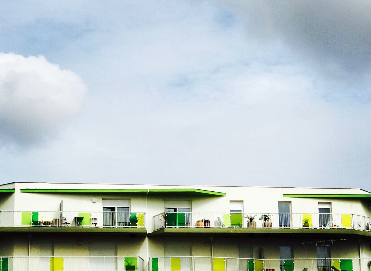 built structure, architecture, building exterior, day, no people, sky, cloud - sky, outdoors, low angle view