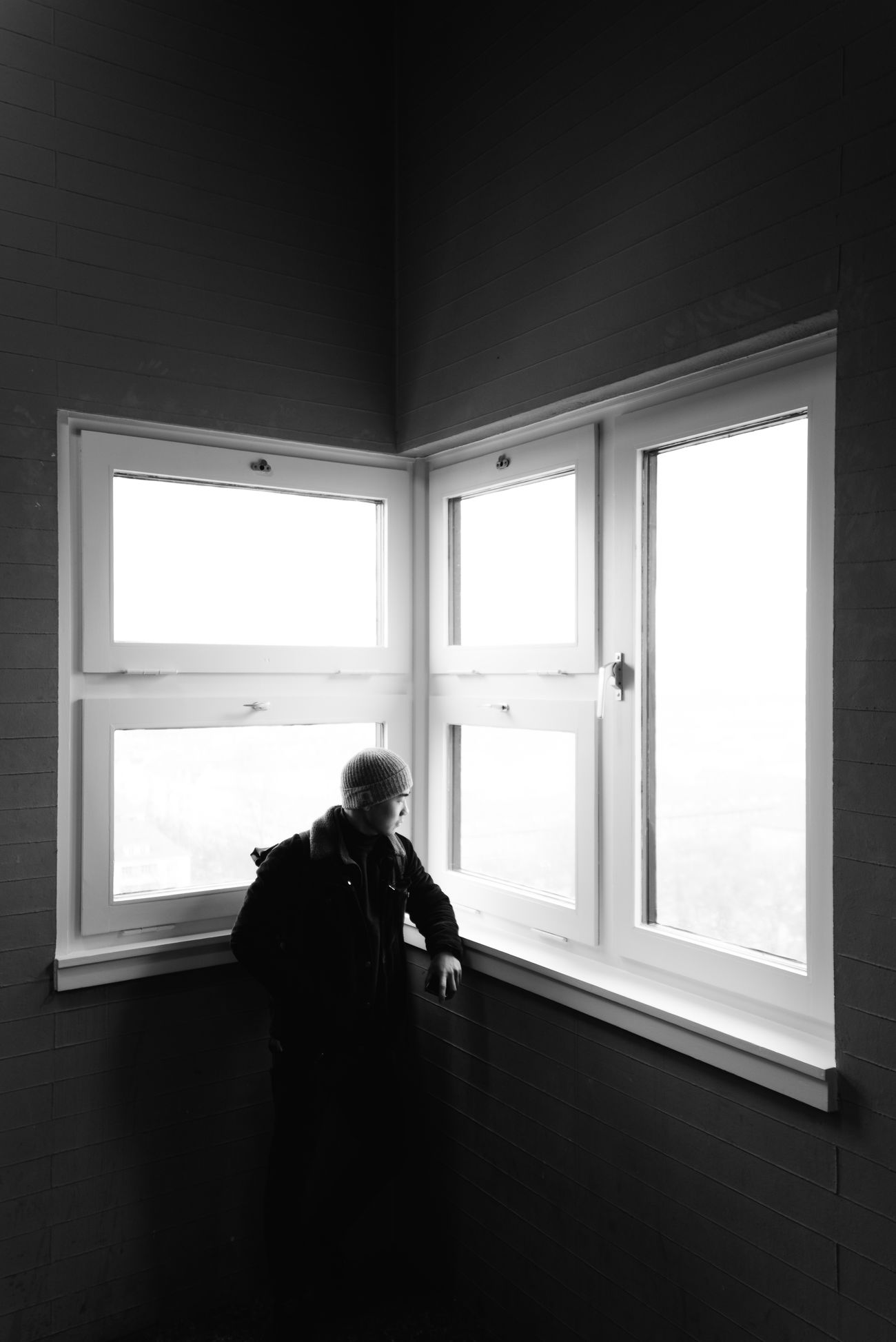 Soft Window Indoors  One Person Real People Adult Adults Only One Man Only Day EyeEmBestPics Eyeemphotography Portrait Of A Friend Portrait Shootermag Light And Shadow Lowlightleague Urban City EyeEm Best Shots Eye4photography  Architecture Sky Young Adult Warm Clothing EyeEm Gallery
