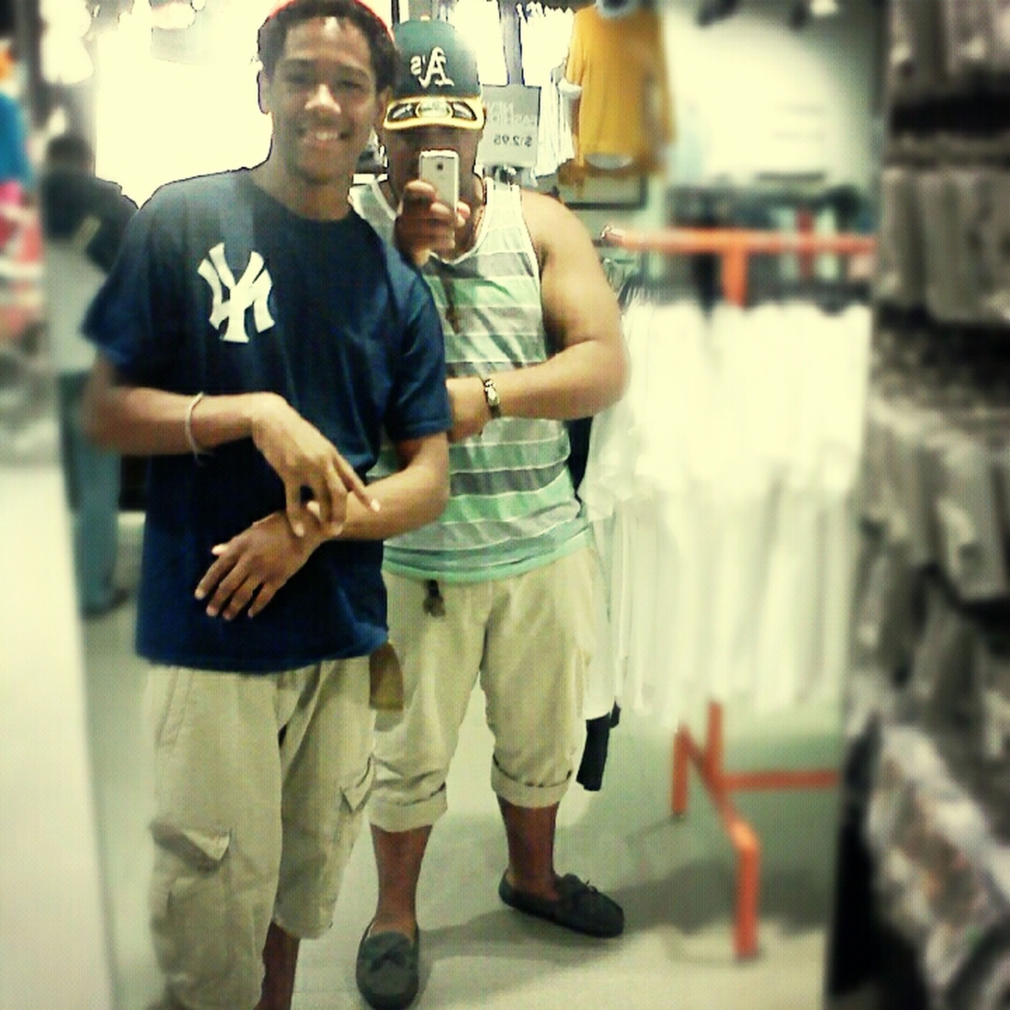 My bro and I :[ Boss Ave