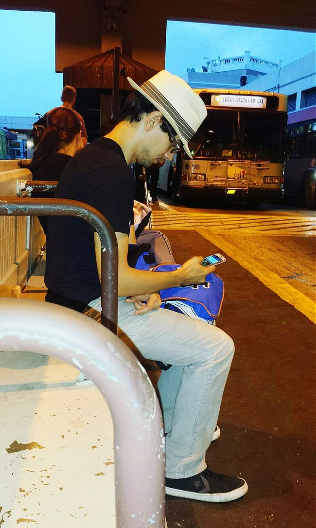Human Meets Technology People Watching At The Bus Station The Human Condition Up Close Street Photography Showing Imperfection Lost In Technology My Phone Is My Life Open Edit The Street Photographer - 2016 EyeEm Awards My Commute Feel The Journey Internet Addiction