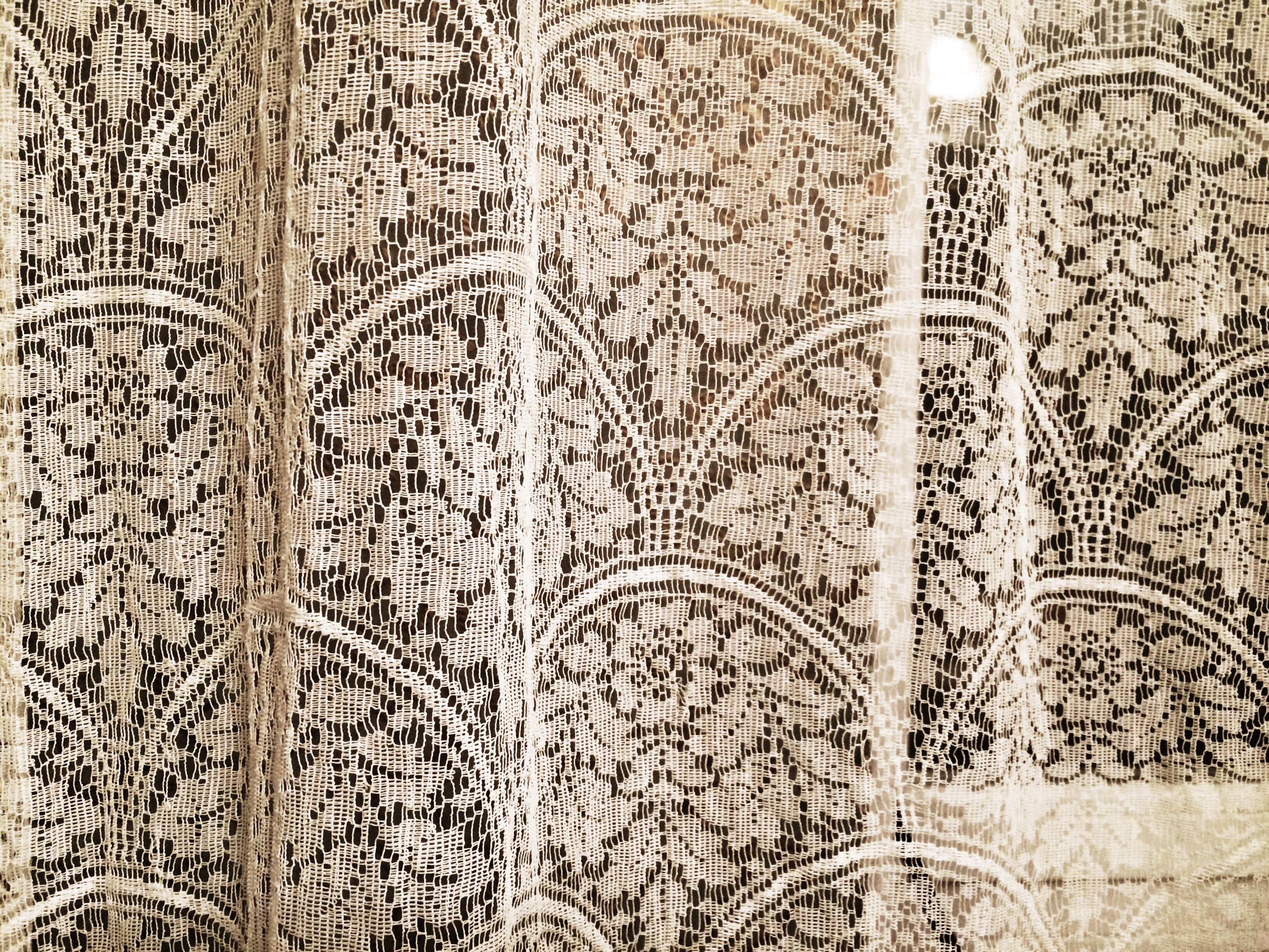 indoors, wall - building feature, design, pattern, art, art and craft, creativity, architecture, built structure, floral pattern, wall, ornate, close-up, no people, religion, day, curtain, spirituality, full frame, textile