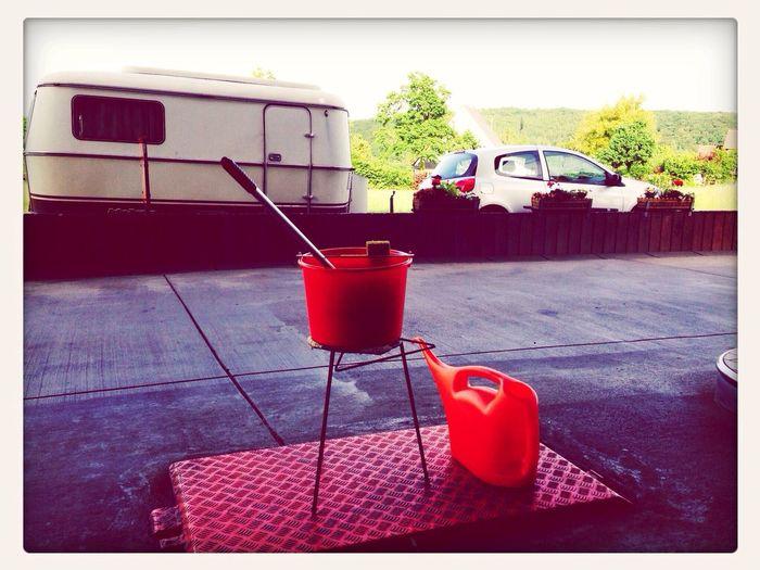 Rest Stop Supernormal Gas Station Orange