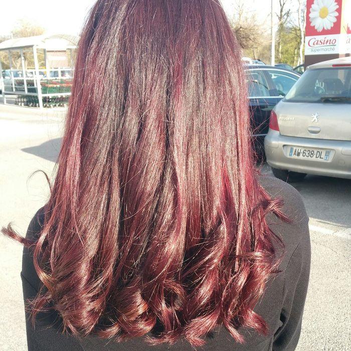 Nouvelle couleur! Couleurs Cheveux Violet Hair