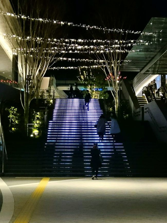 Night Night Lights Stairs Shillouette Urban Lifestyle Enjoying Life City Life Street Photography Illumination
