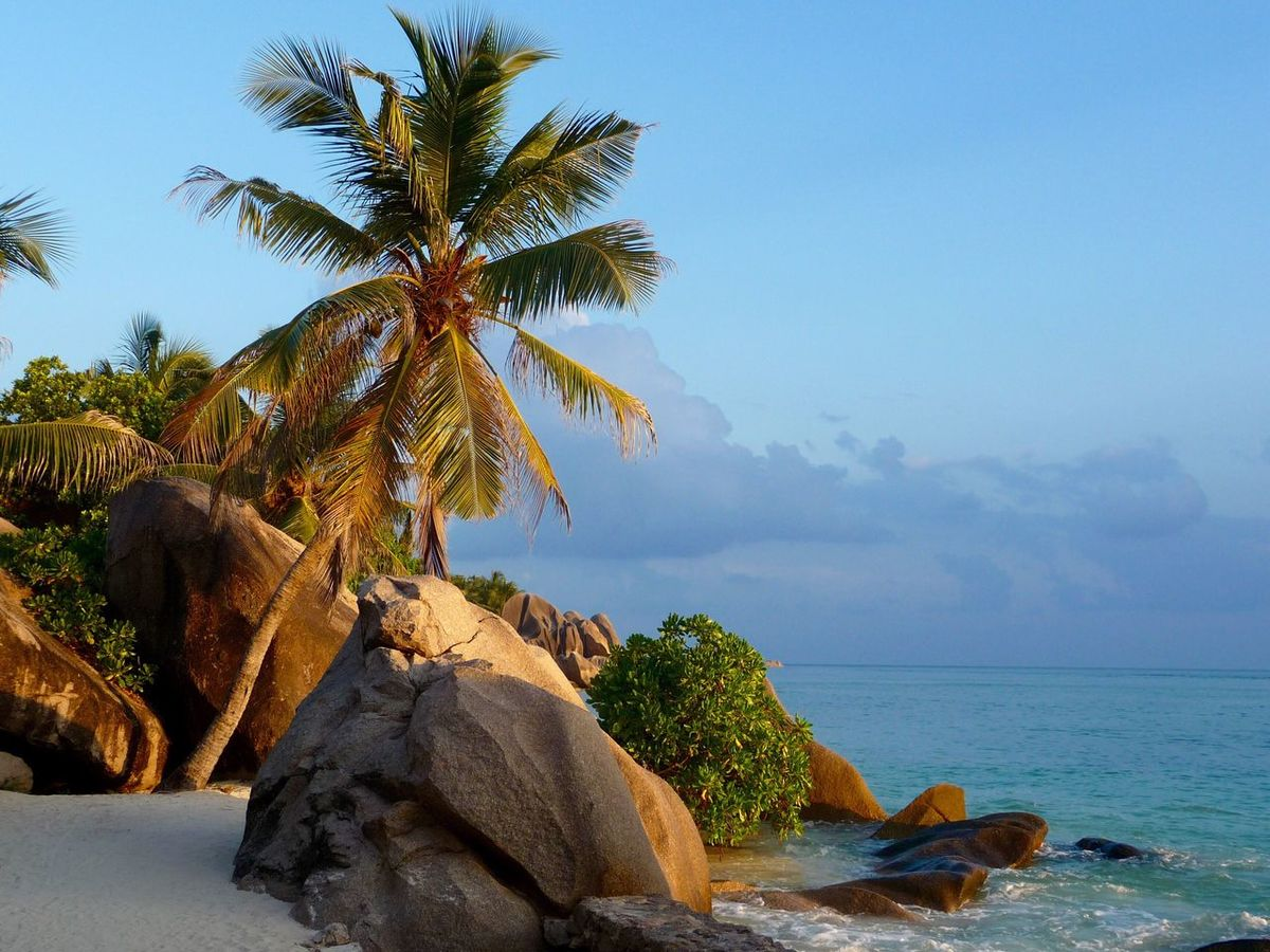 Seychelles dream beach Anse Source d' Argent on La Digue Beauty In Nature Tranquil Scene No People Seychelles Anse Source D'argent Scenic Indian Ocean The Great Outdoors - 2017 EyeEm Awards Dreaming Paradise Paradise Beach Sommergefühle